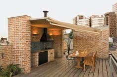 Espaços gourmet: uma seleção de cozinhas ao ar livre - Casa.com.br