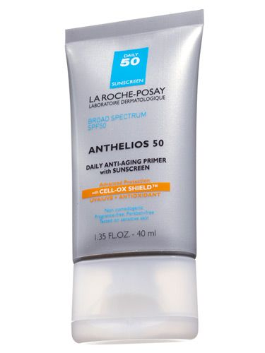 "BEST PRIMER    La Roche-Posay Anthelios 50 daily anti-aging primer, $39.50    ""This made my skin look flawless,"" said dermatologist Phoebe Lu. Plus, ""it's free of oil and fragrance, so it's safe for both acne-prone and sensitive skin."""