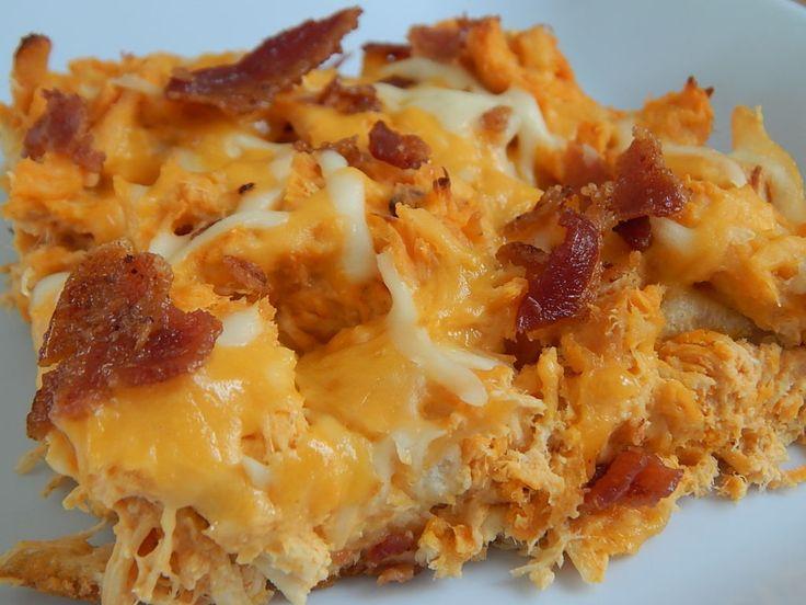 Buffalo chicken & bacon bubble up – Drizzle Me Skinny!