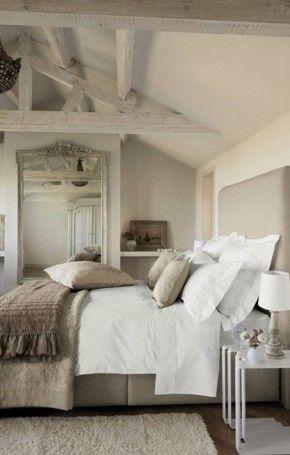 lofted kids room, love the ceiling