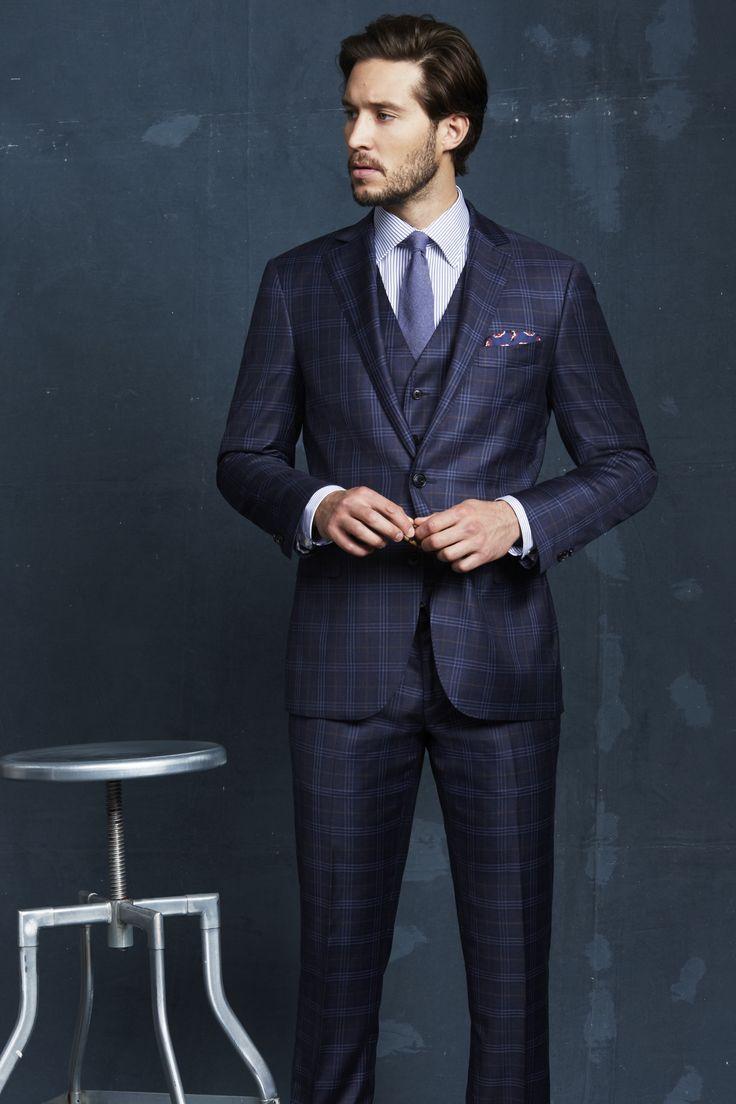 Bedfordshire Navy Suit; Aldous Navy Shirt; Megeve Navy Tie; Navy Pocketchief