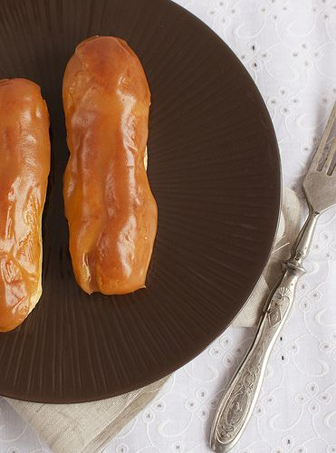Eclairs au caramel - My recipe book