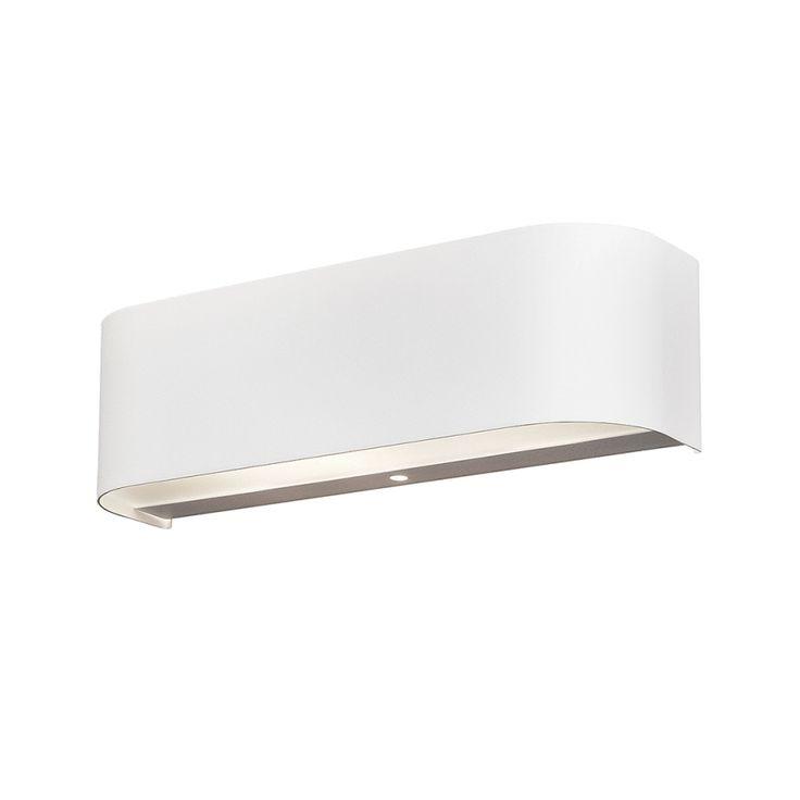 LED-Wandleuchte - Weiß - 2x3,2 W