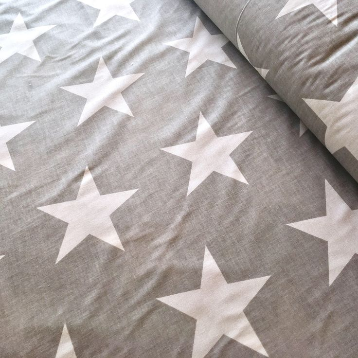 A personal favorite from my Etsy shop https://www.etsy.com/listing/535556803/big-stars-fabric-star-fabric-white-star