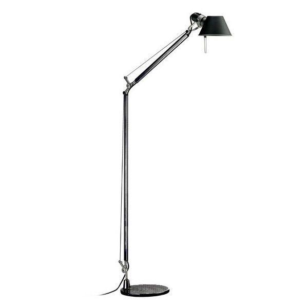 Tolomeo Lettura vloerlamp met zwarte voet | Artemide