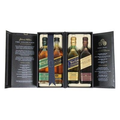 Whisky Johnnie Walker Collection Geschenk-Box Green Gold Black Blue Label: http://cocktail-glaeser.de/spirituosen/whisky/whisky-johnnie-walker-collection-geschenk-box-green-gold-black-blue-label/