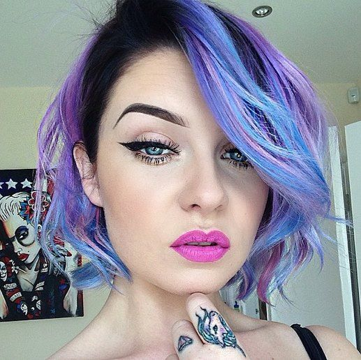 50 Sweeet Cotton Candy Hair Ideas That Are As Aye-pleasing As Can Be