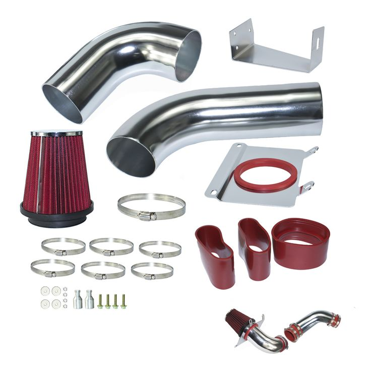 """Air Intake pipe kit for Ford Mustang 1989-1993 5.0L V8 Cold Air Intake Induction kits with 3.5"""" Air Filter  YC100689 #Affiliate"""
