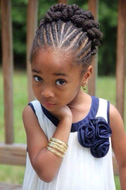 Coiffure afro enfant  faites le plein didées pour ses cheveux !