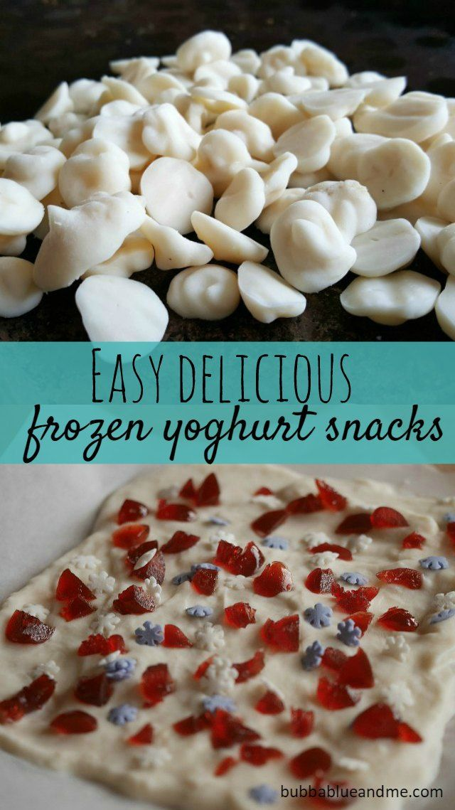 3 easy frozen yoghurt treat recipes you can make with the kids - Bubbablue and me