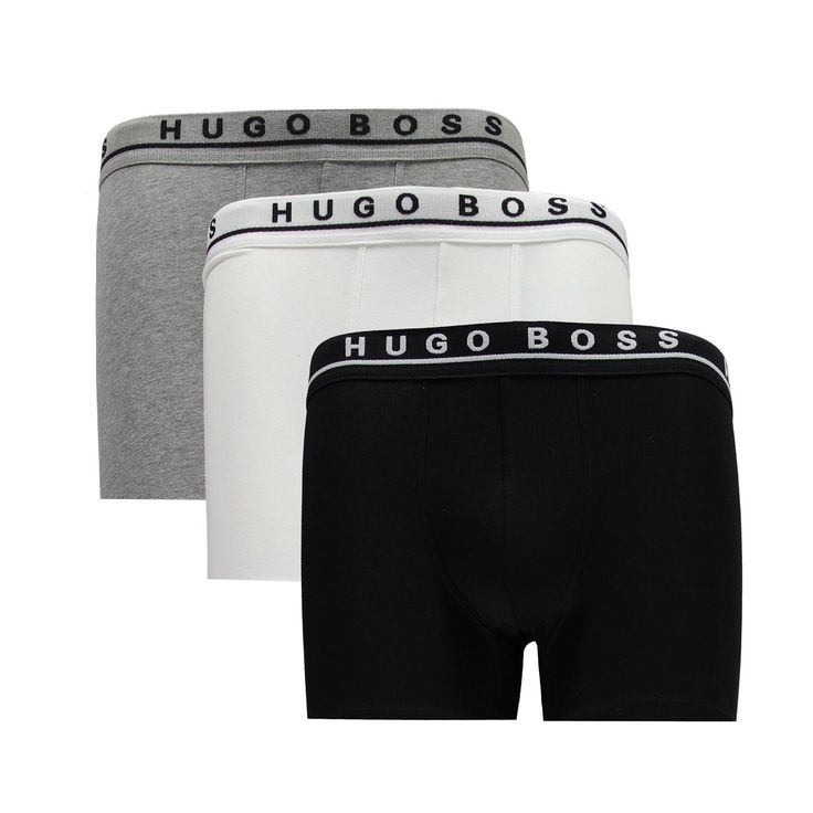 Boss Black 3 Pack Boxer Briefs