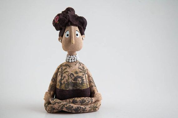 "Ceramic – Sculpture ""Lydia Oh! Lydia""  Ceramic Figure – a unique product by AnaBossa on DaWanda"