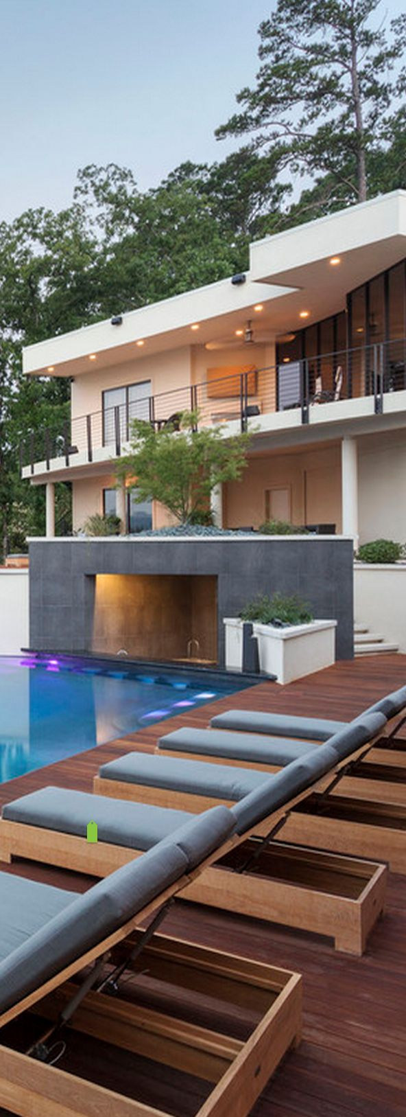 Apply our Faceal Oleo HD on wood and around your pool. Photo: This project was designed by Taggart Architecture