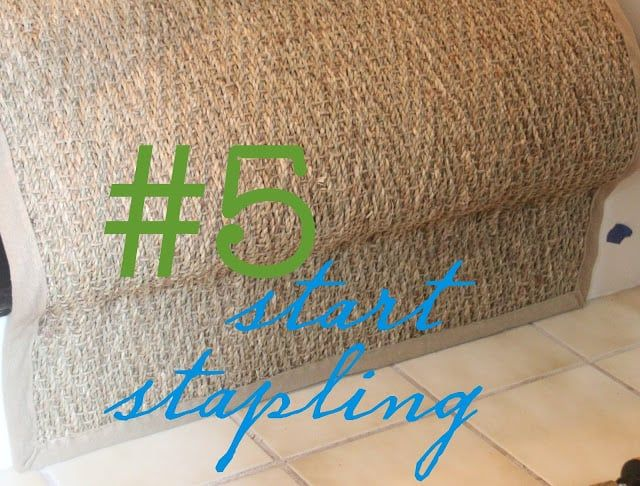 Best How To Install A Seagrass Stair Runner Stairs Treads 400 x 300