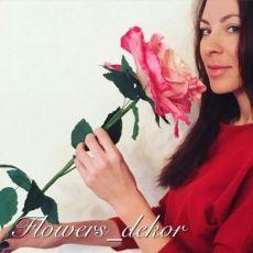 Прекрасная роза из фоамирана   Всё о моде, стиле, шитье и рукоделии СЛИЯНИЕ…