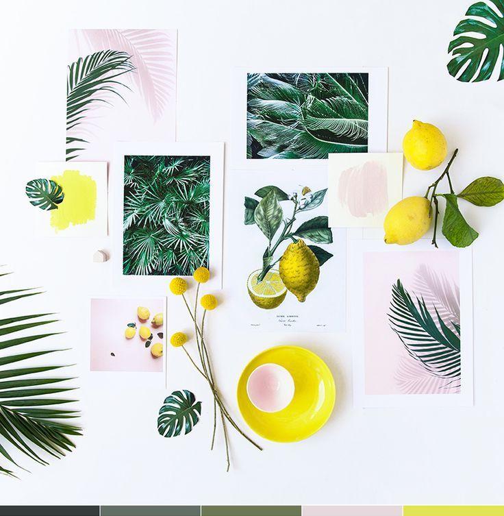Concours Pastel & botanique (My Little Fabric)