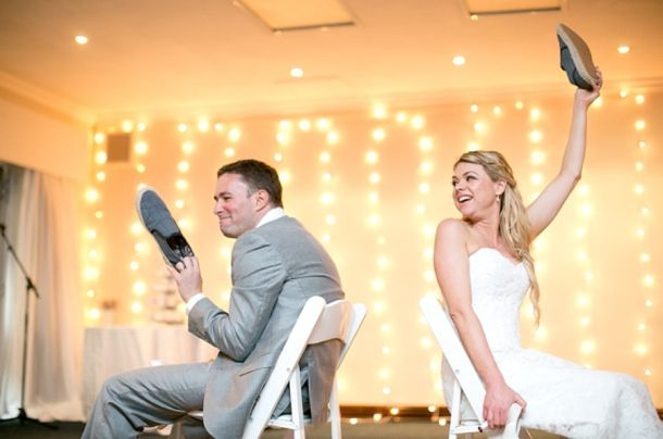 Image from Sarah & Oded's beach wedding (photography by Laura Jane Photography) Over the last year or so I've been noticing quite a few brides and grooms playing this fun little gam…