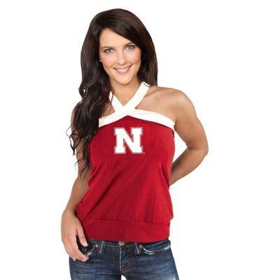 Nebraska Cornhuskers Junior Ladies Open Field Top