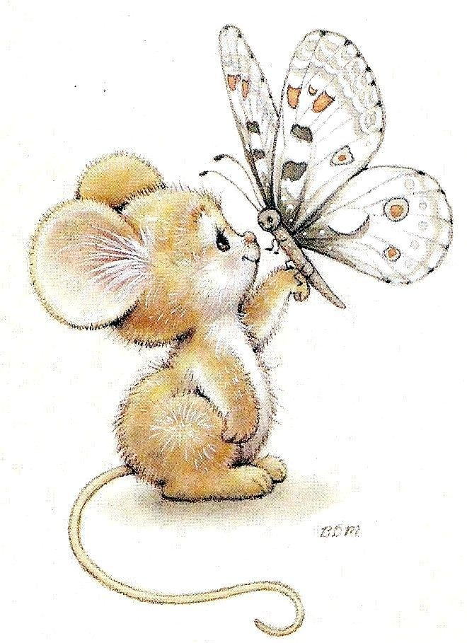 Printable - Mouse - Ruth Morehead
