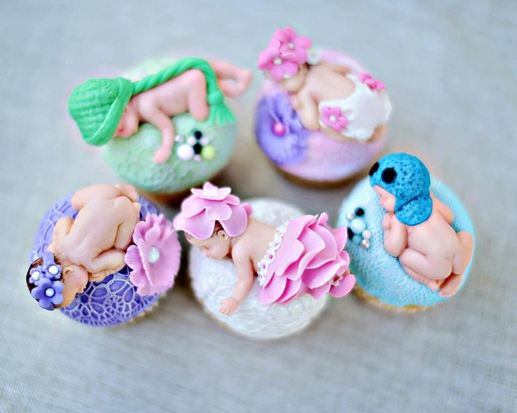 143 Best Baby Cake Ideas Images On Pinterest Petit Fours Conch