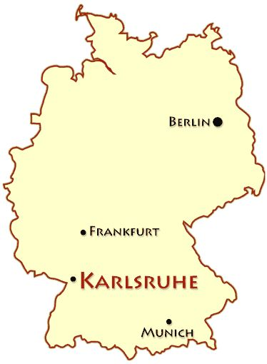 Best Karlsruhe Germany Images On Pinterest Germany Paul - Germany map karlsruhe