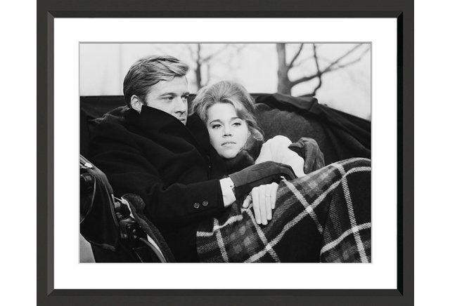 Robert Redford and James Fonda