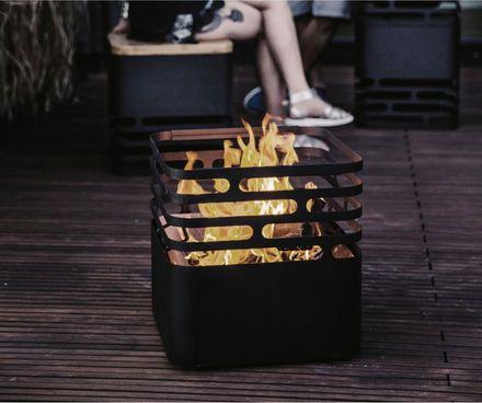Höfats Cube Feuerstelle #Feuer #Korb #Grillen #Grillieren #Holz #Terrasse #Garten #Galaxus