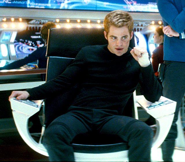 Captain James T. Kirk in Star Trek (Chris Pine) (with apologies to William Shatner) ;)