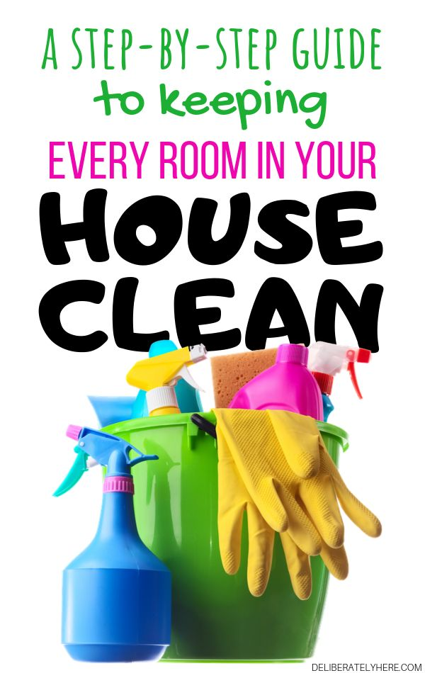 How to Clean Every Room in Your House