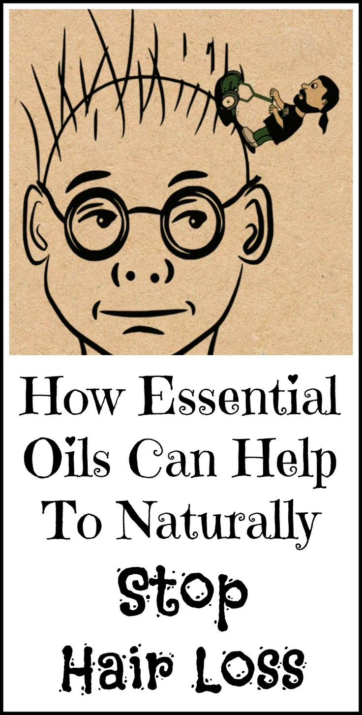 How to use essential oils to naturally stop hair loss.