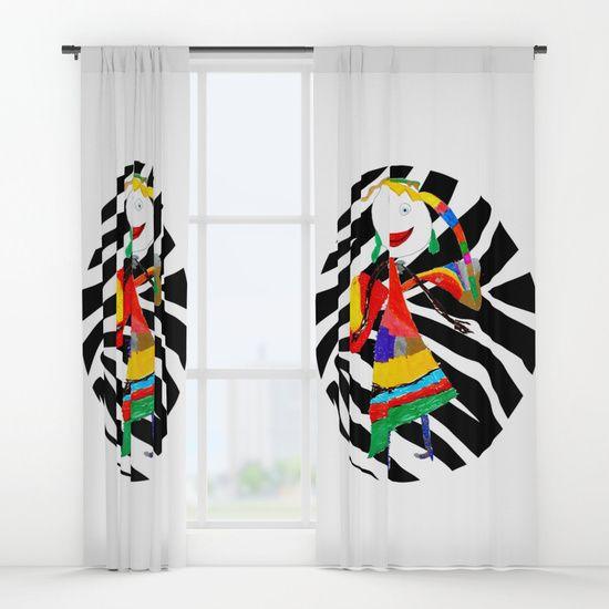 #ShareMySociety6 @society6 #Summer2017 #reiki #yoga #meditation #zebra #rainbow #fairy #pop #art #wallart #leggings  https://society6.com/product/rainbow-zebra-fairy-society6_curtain