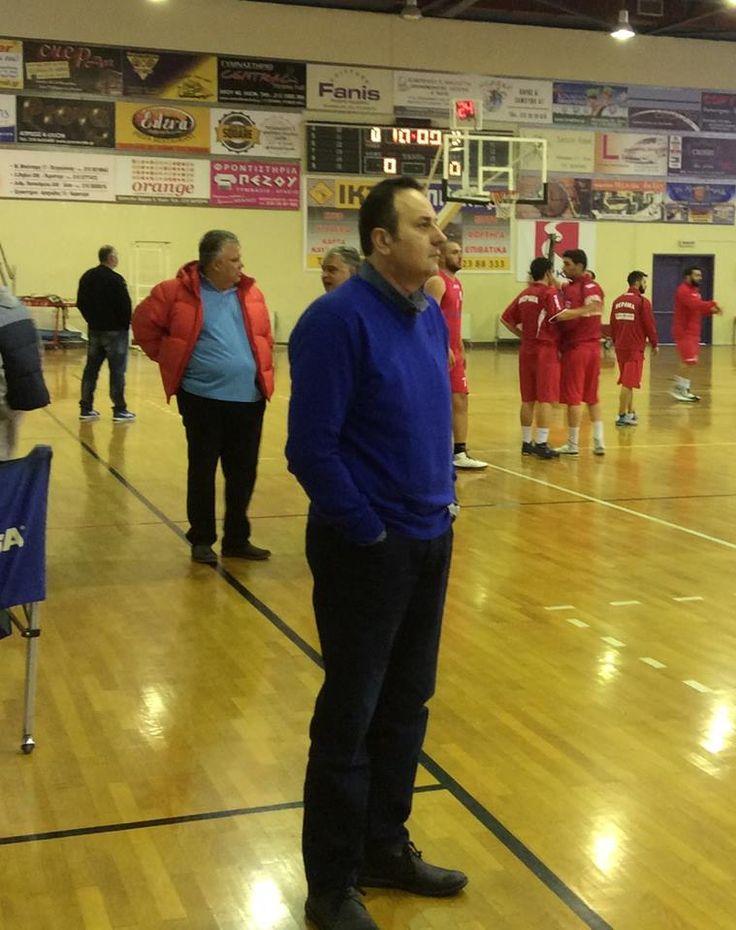 Coach Takis Panoulias
