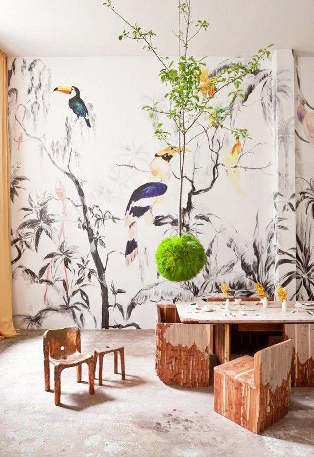 1000 bilder zu einrichtung deko und und und auf - Papier peint fresque murale ...