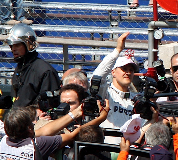 Michael Schumacher in Monaco
