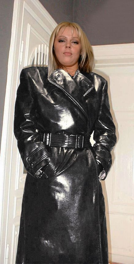 Sexy leather coats
