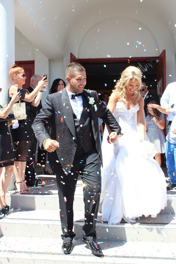 My Sons Wedding Day Groom Dressed By TOM FORD And Bride By JATON COUTURE X