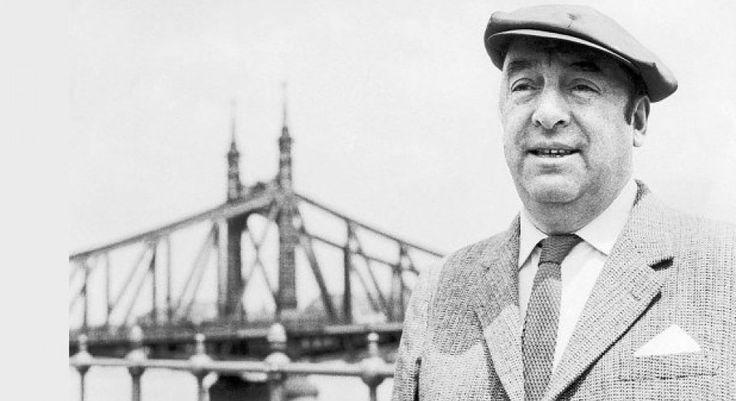 50 frases de Pablo Neruda (con gran valor romántico)
