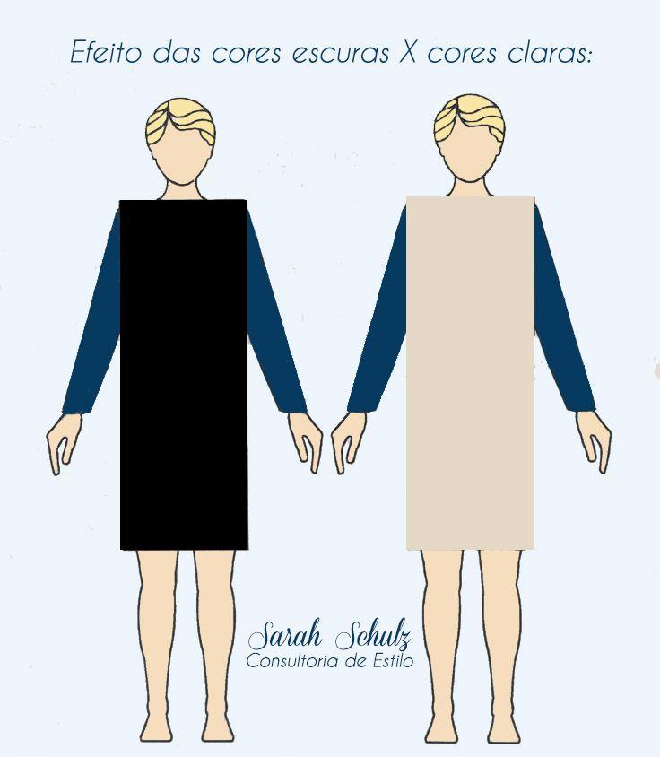 ** Percebam a diferença entre a boneca de vestido claro X escuro. A boneca da esquerda, que está com o vestido escuro parece ser mais fina e alongada do que a da direita.
