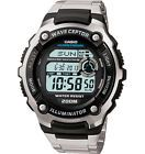 Casio WV200DA-1A Men's Stainless Steel Band World Time Multi Band Atomic Watch