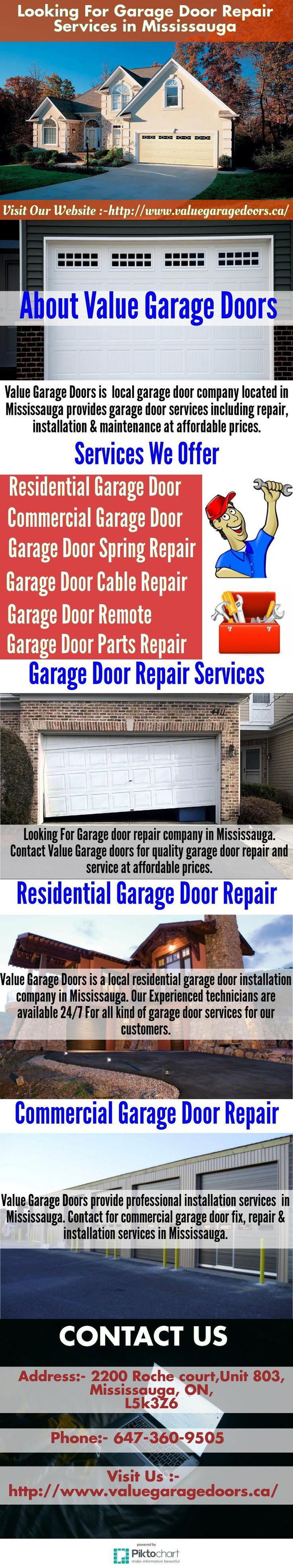 Pin By Value Garage Doors On 24/7 Garage Door Repair, Installation,  Replacement Service In Mississauga | Pinterest | Garage Doors And Doors