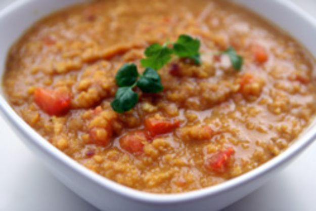 how to cook dried red lentils