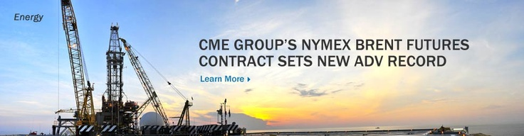January 18, 2013: CME Group Announces Trading Volume Record in NYMEX Brent Crude Oil Futures