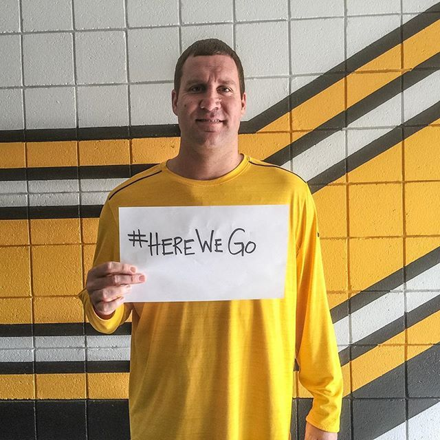 We're all in this together. #HereWeGo
