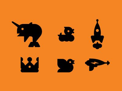 Various Icons by Luke Bott