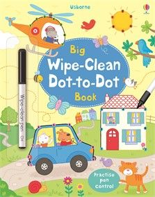 Usborne Big Wipe-Clean Dot-to-Dot Book