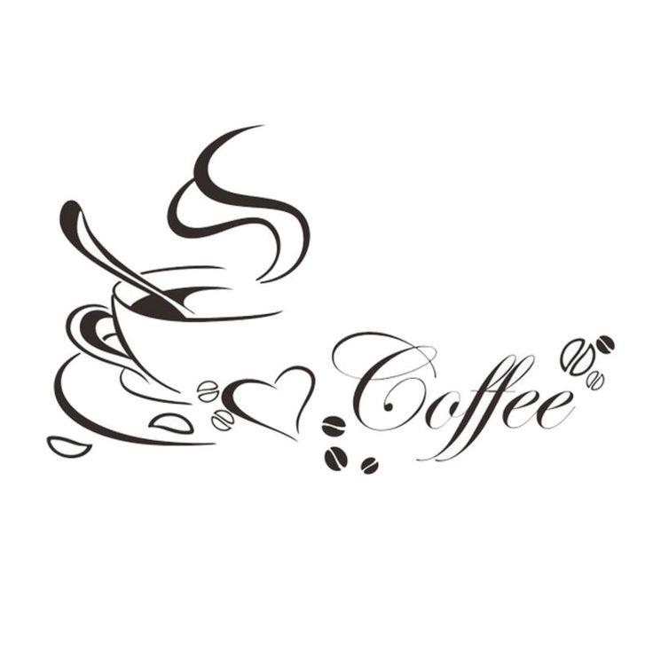 100+ ideas to try about küchendeko Deko, 14 and Tag art - wandtattoos küche kaffee