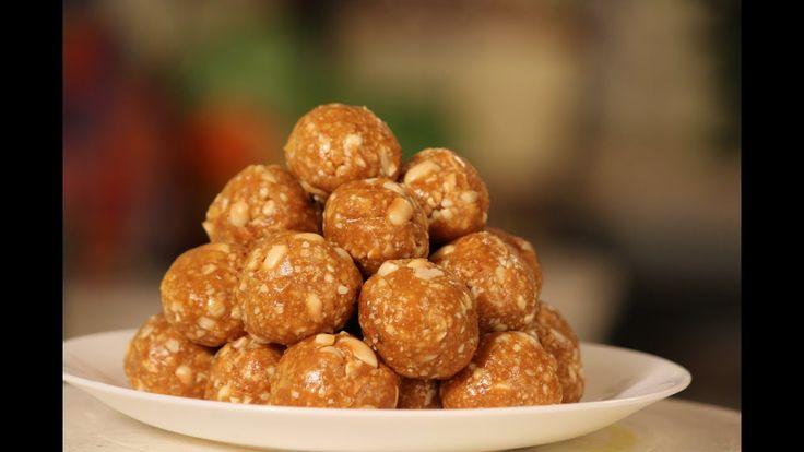 Peanut and Dry Fruit Laddoo | Diwali Special Recipe | Sanjeev Kapoor Kha...