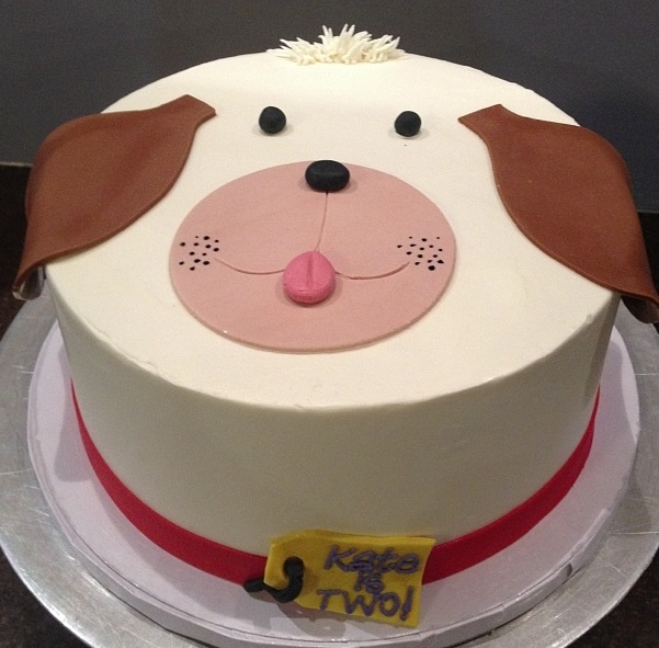 Cake Design With Dog : Puppy dog birthday cake Cami s Cake Co. in Eudora, KS www ...
