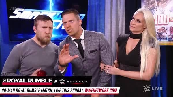 JUST ANNOUNCED: Dean Ambrose will defend his Intercontinental Championship against The Miz in a Lumberjack Match TONIGHT on WWE SmackDown Live!