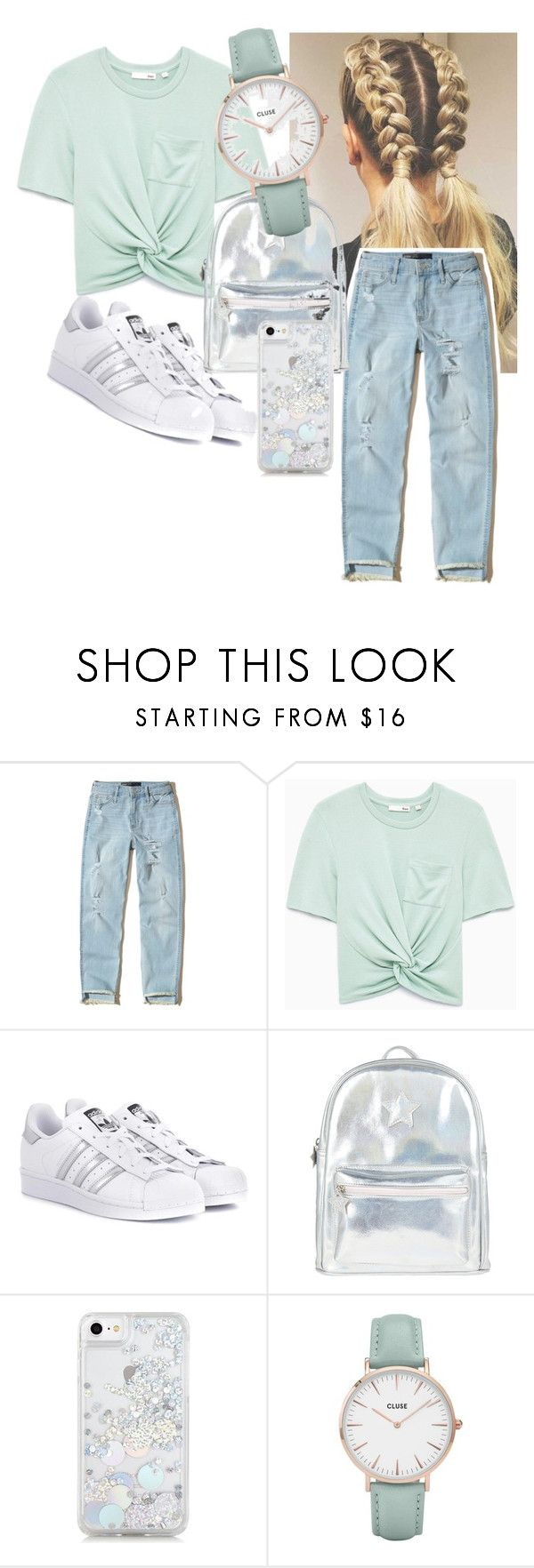 """""""Untitled #21"""" by androsales24 on Polyvore featuring Hollister Co., adidas Originals, Accessorize, Skinnydip and CLUSE"""